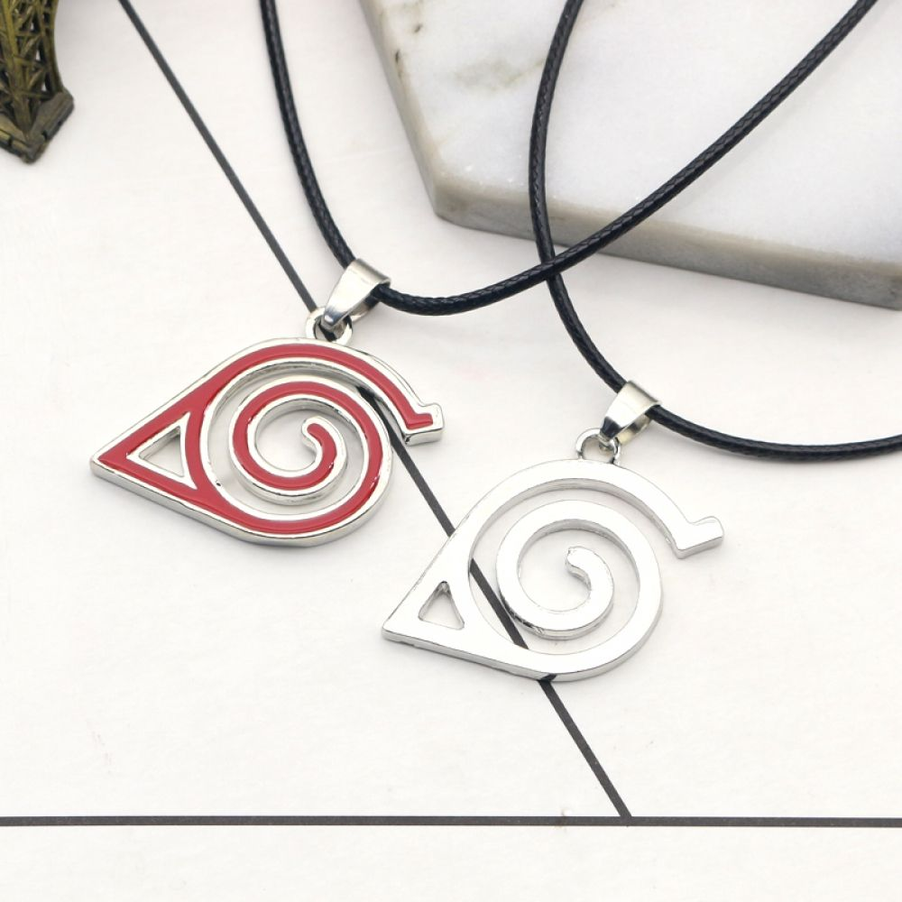 Naruto Leaf Village Pendant Necklace for ONLY 799 with FREE Shipping