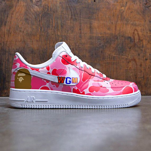 premium selection 0e4c8 a8bfe Bape Custom Nike Air Force one,custom sneakers , custom shoes , custom nike  ,custom kicks ,hand pain