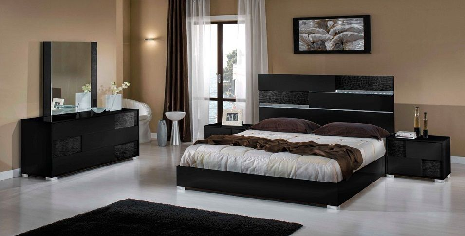 Modern Italian Bedroom Furniture | Home Improvement : Bed and Bath ...