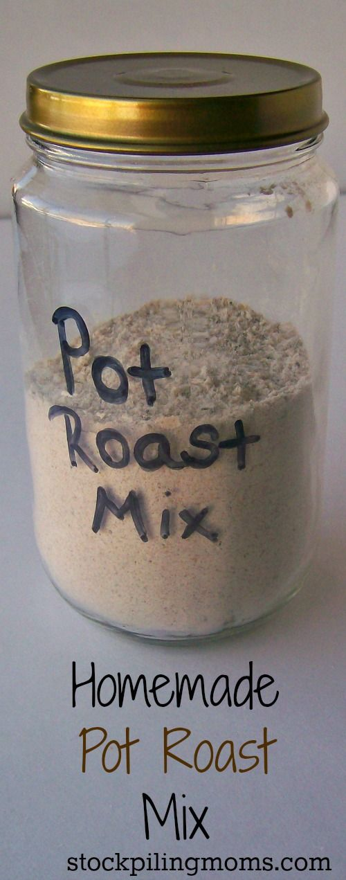 Homemade Pot Roast Mix #homemadeseasonings