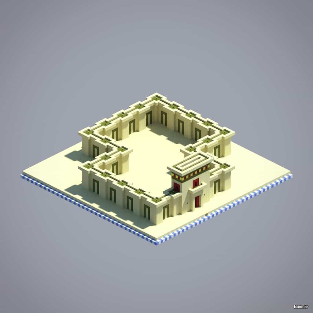 Temple walls sandstone stained clay gold blocks minecraft temple walls sandstone stained clay gold blocks minecraft sciox Image collections