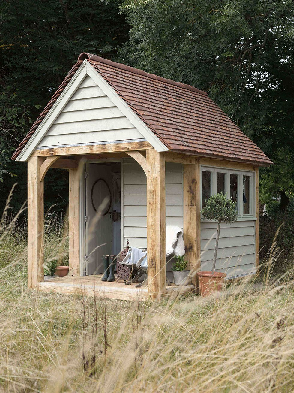 Garden Sheds   Period Living. Like The Porch But Prefer To Be Closed In Up  To Waist Height