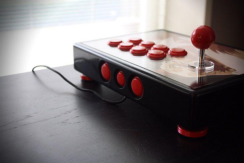Shadaloo Custom Zangief Fightstick Atari Joystick Custom Arcade