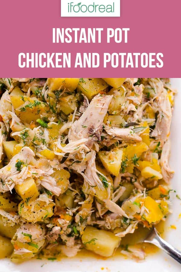 Photo of Instant Pot Chicken and Potatoes (Video) – iF