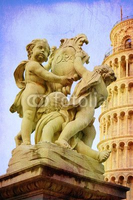 Pisa - i putti e la torre.  #landmark #holiday #landmark #symbol #holiday #art #tourist #tower_of_pisa #building #microstock #marketing #WebDesign #design #designaneolife #ecommerceur #fastudio #SEO #NYC #pizza #sky #background #europe #business #square #italy #tuscany #pisa #basilica #architecture #Italy #cathedral #tower #tuscany #cathedral #architecture #miracle #church #travel #bell #dome #europe #tourism #putti #travel #dome #pendant #tourism #church #italian #tower #cherubs