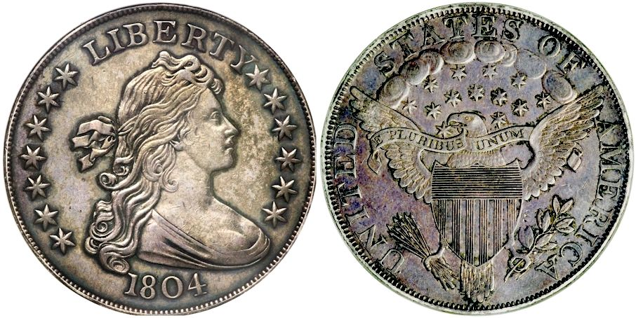 1804 1 Original Pr62 Ngc Proof Early Dollars Lot 2089 Heritage Auctions Valuable Coins Coins Silver Dollar