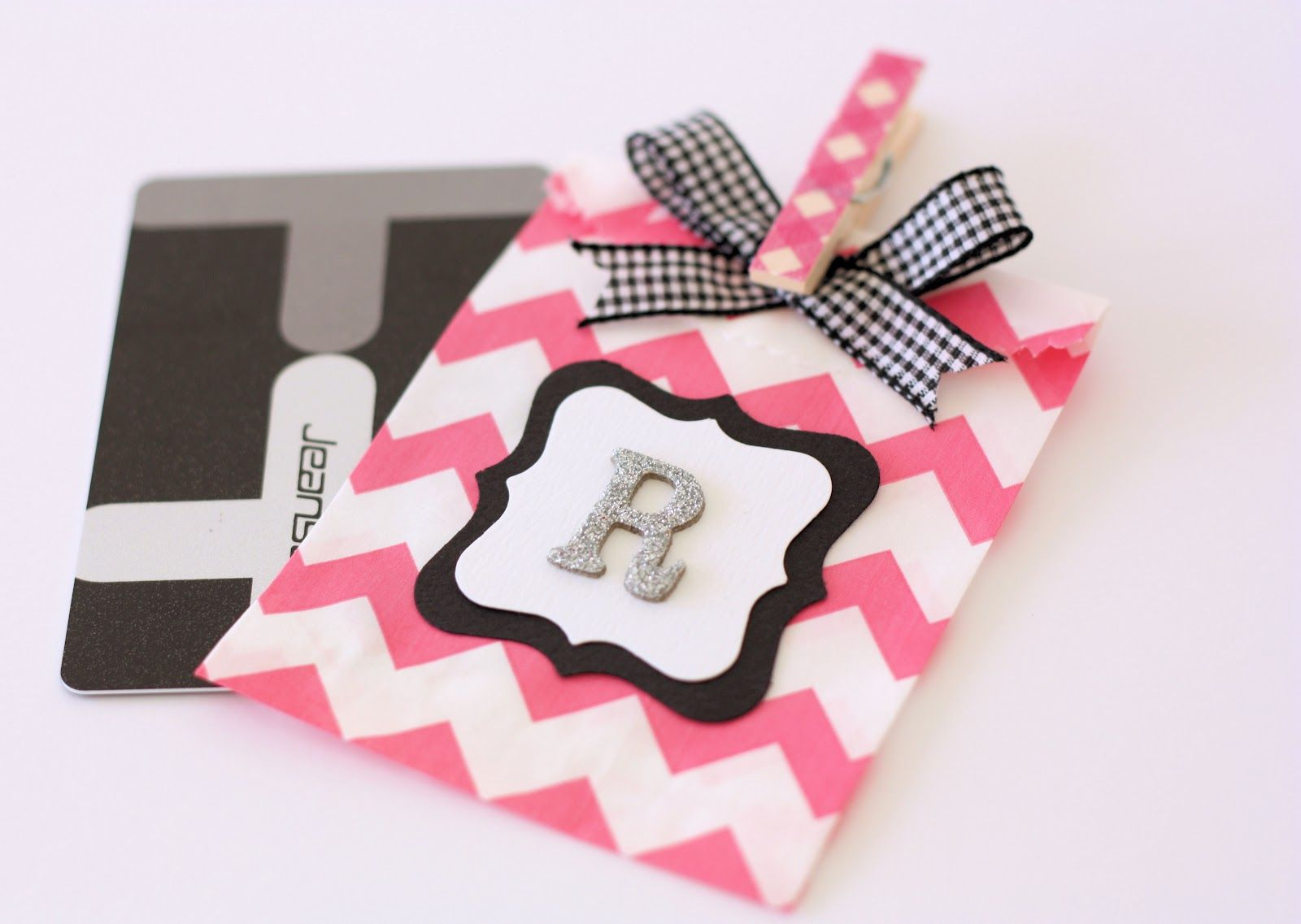 How to Wrap a Gift Card - A Spoonful of Sugar | Craft/scrapbooking ...