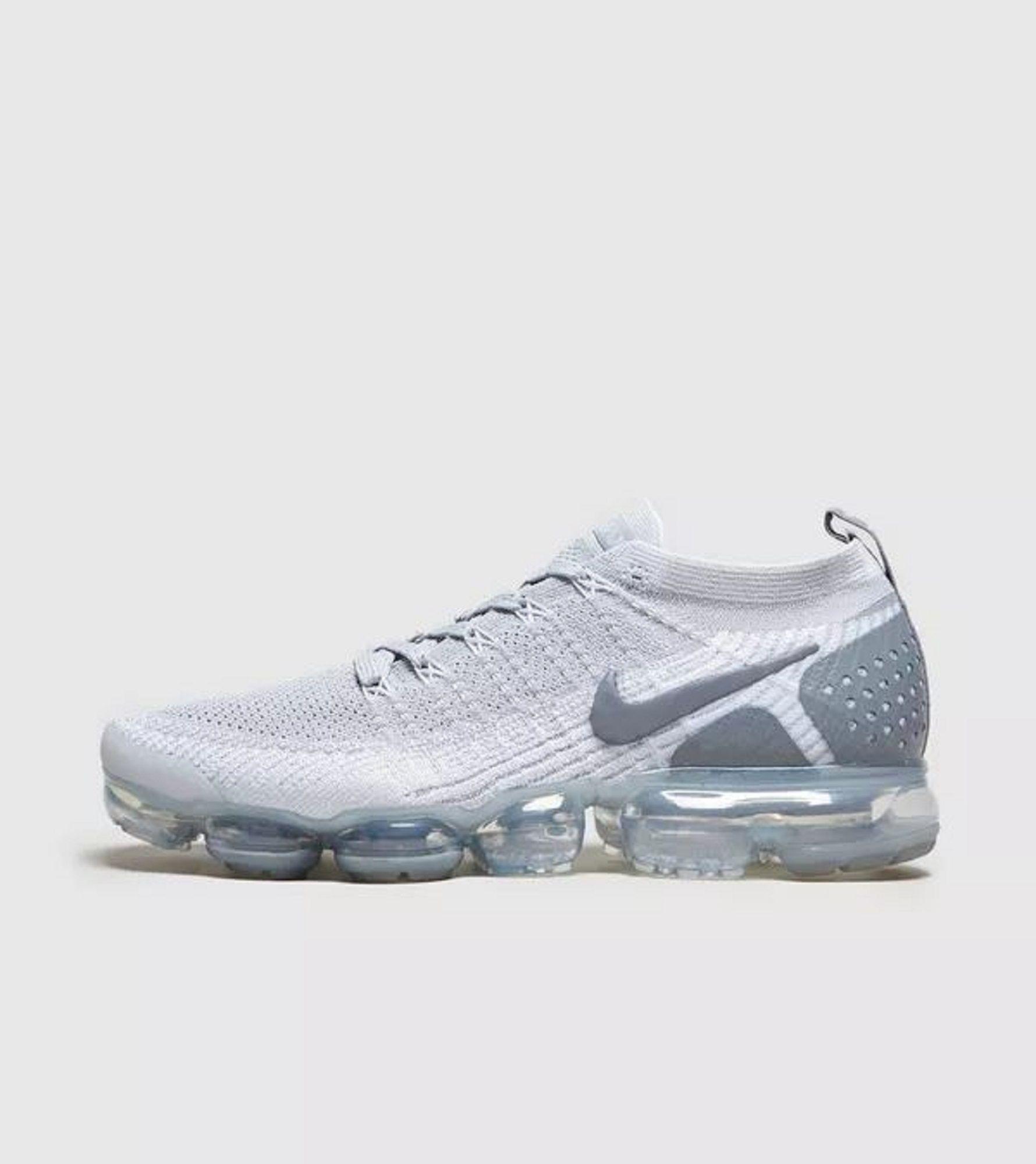 a0a7efbcb58a0 Nike vapormax flyknit 2 wolf grey pure platinum AV7973-001 | Shoes ...