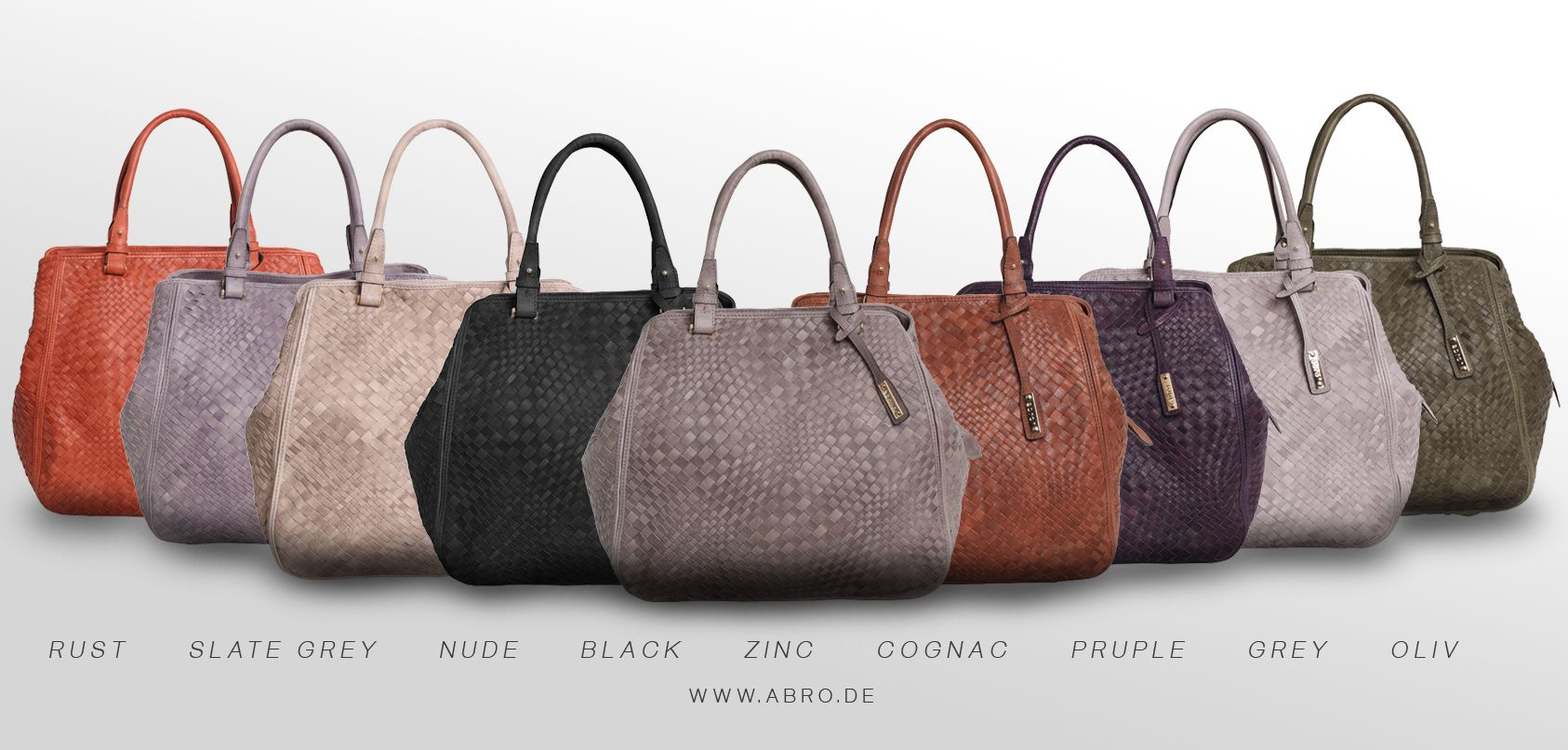 Abro Woven Bags Colorful Lederhandtaschen Taschen Shopper