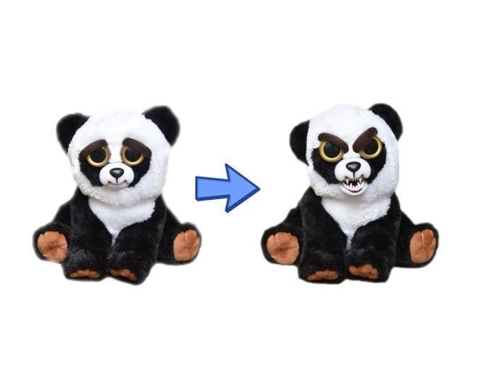 Feisty Pets Black Belt Bobby Adorable Plush Stuffed Crazy Panda