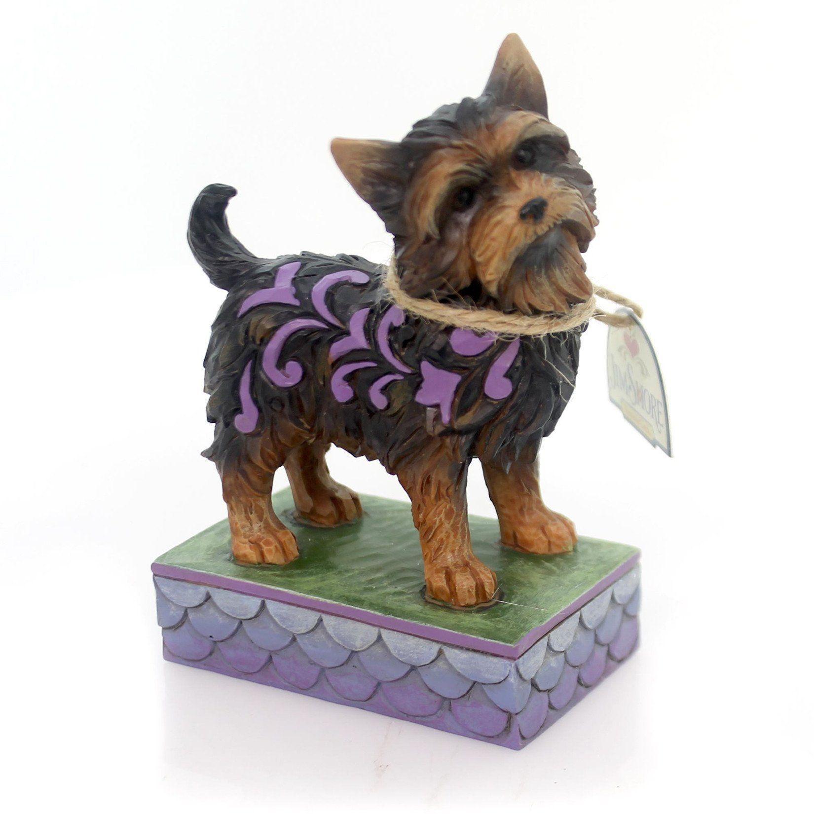 Home interior masterpiece figurines jim shore yorkshire terrier figurine  yorkshire terrier yorkshire
