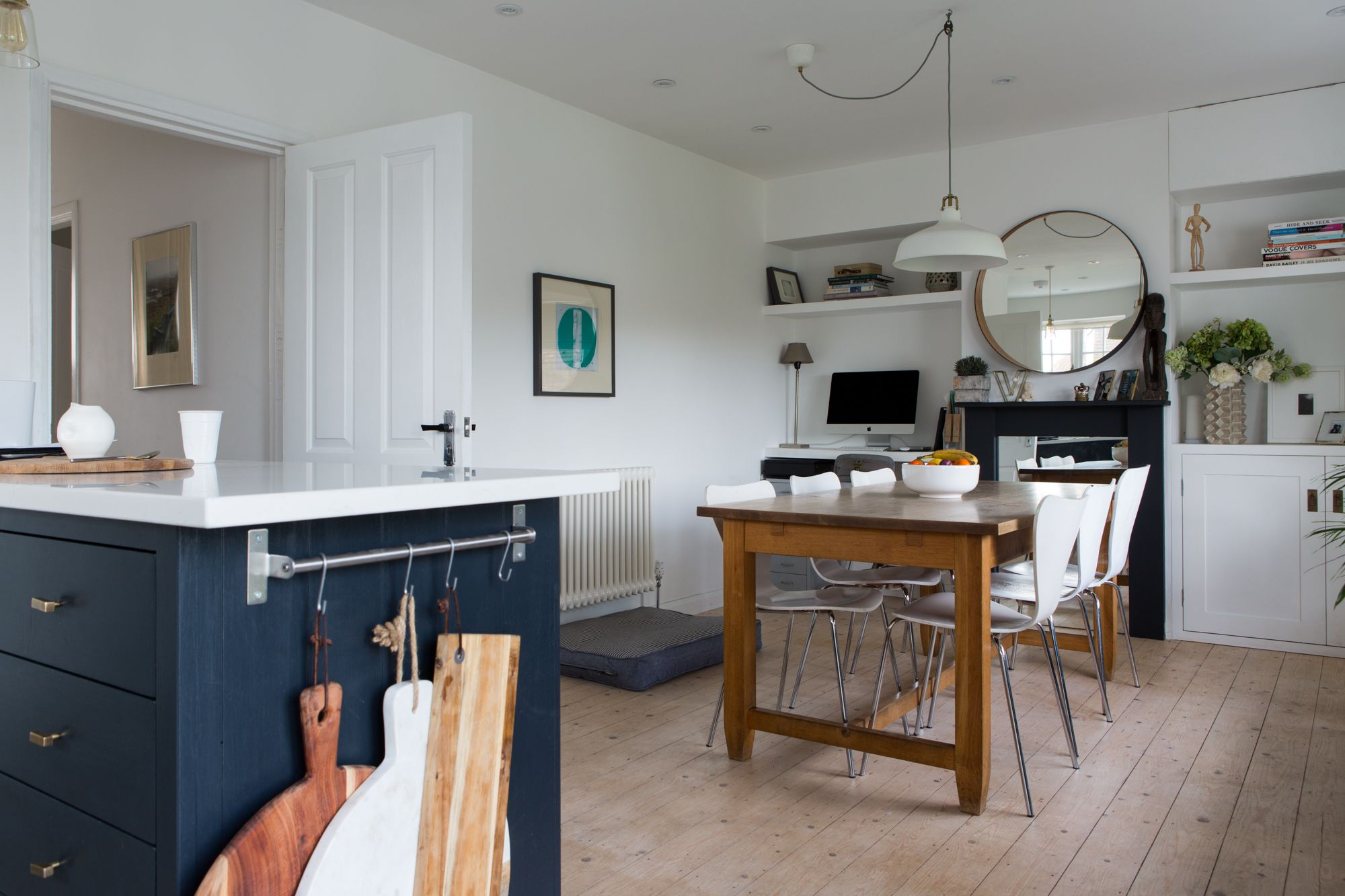 A Cozy Cool Modern Country UK Home Kitchen decor