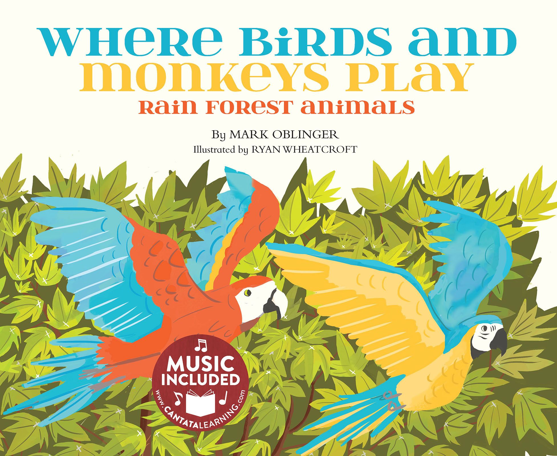 Where Birds And Monkeys Play Rain Forest Animals Rain Forests