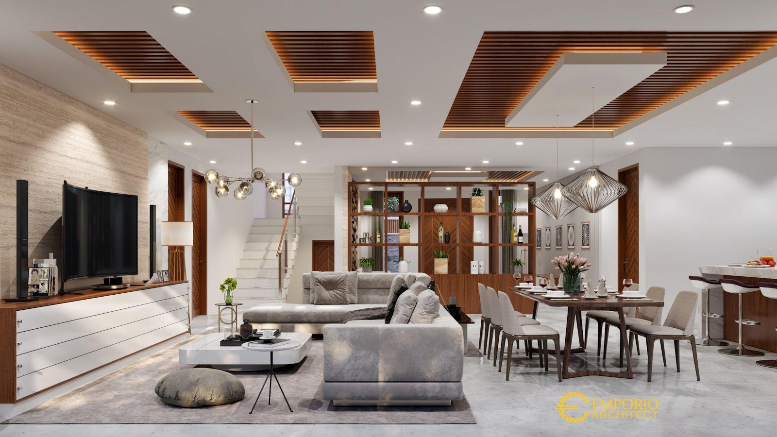 Jasa Arsitek Di Batam Desain Rumah Bapak Vitorio 5 Desain Rumah Rumah Desain #pop #design #living #room