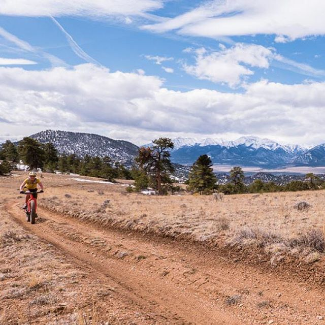 POD: The sand in the Fourmile Travel Management Area is no match for a fat bike. Photo: Scott Anderson #fatbike #mtb #colorado