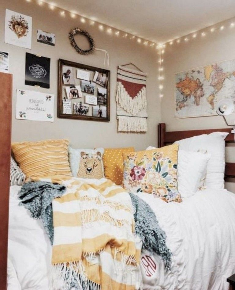 30 Interesting Dorm Room Ideas That Your Inspire Classy Dorm Room Dorm Room Inspiration Dorm Room Decor
