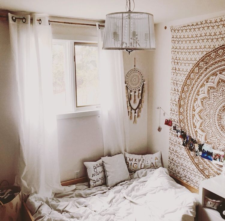 How to Easily Create The Perfect Boho Vibe in The Bedroom ... on Modern Boho Bed Frame  id=41509