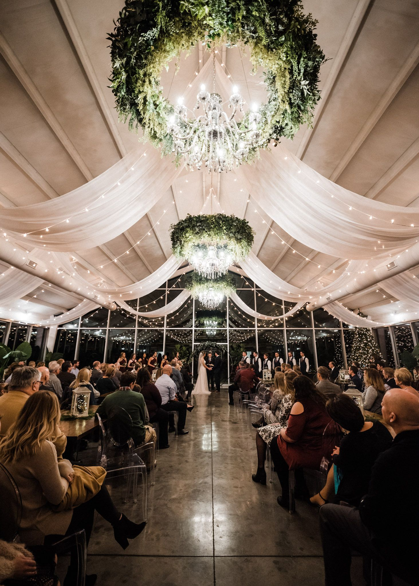 Tanner Burge Photography Winter Wedding Blog Greenhouse Two