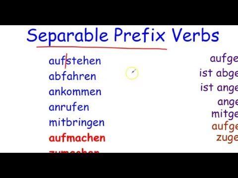 German Grammar: Present Perfect Tense - Irregular (Strong Verb ...