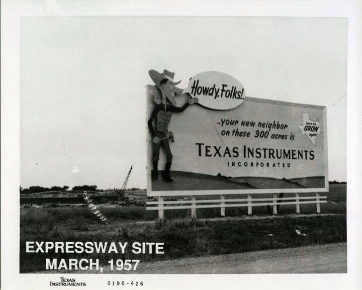 Dallas texasthe birthplace of texas instruments