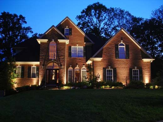 Outdoor landscape lighting design ideas let there be for Exterior lighting design
