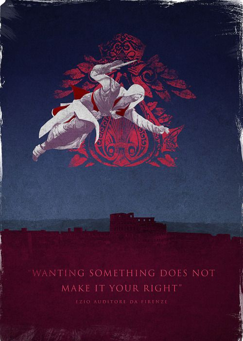 Assassin's Creed Brotherhood Poster  - Bernie Jezowski