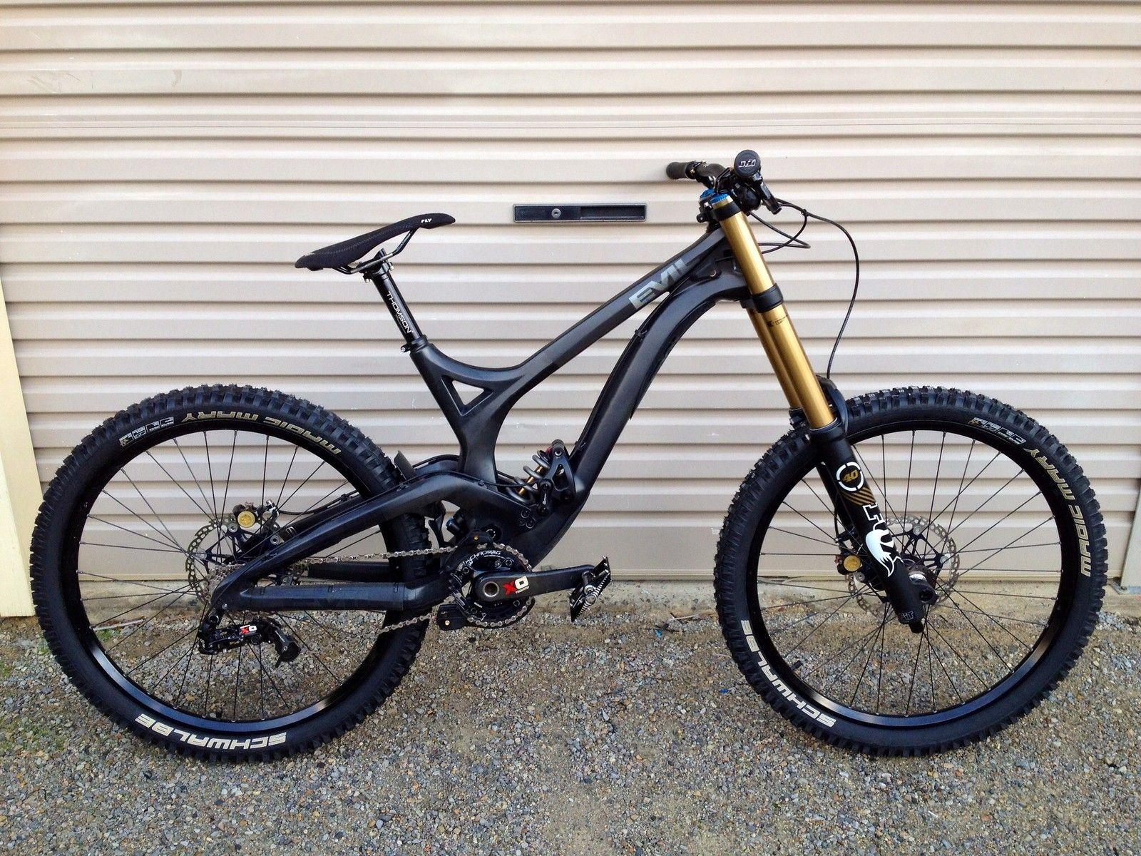 M Pure Evil M Aussiedhpinner S Bike Check Vital Mtb Mtb