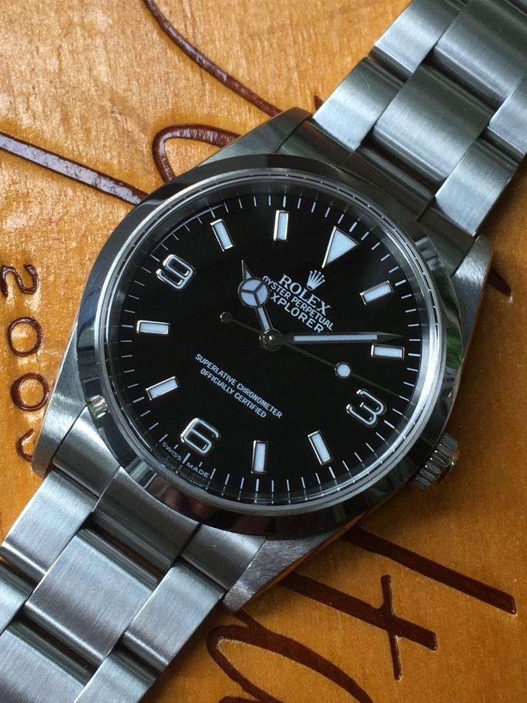 09c3043616d Rolex Explorer I 114270 36mm D series