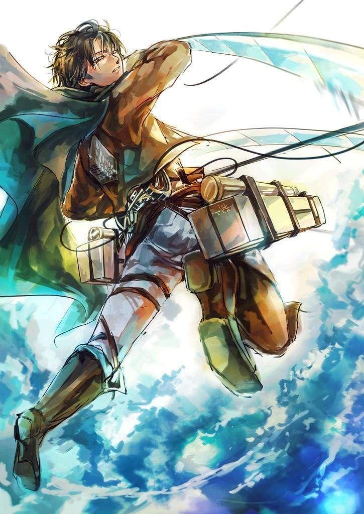 God Mode Levi Is So Badass Attack On Titan Fanart Gambar Anime