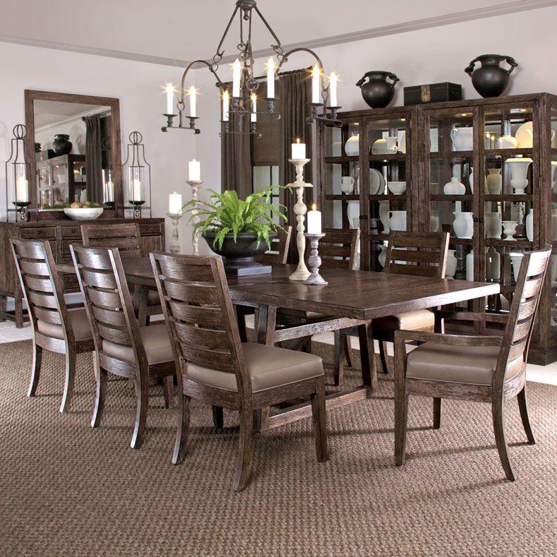 Bernhardt Elements Dining Table 335 224