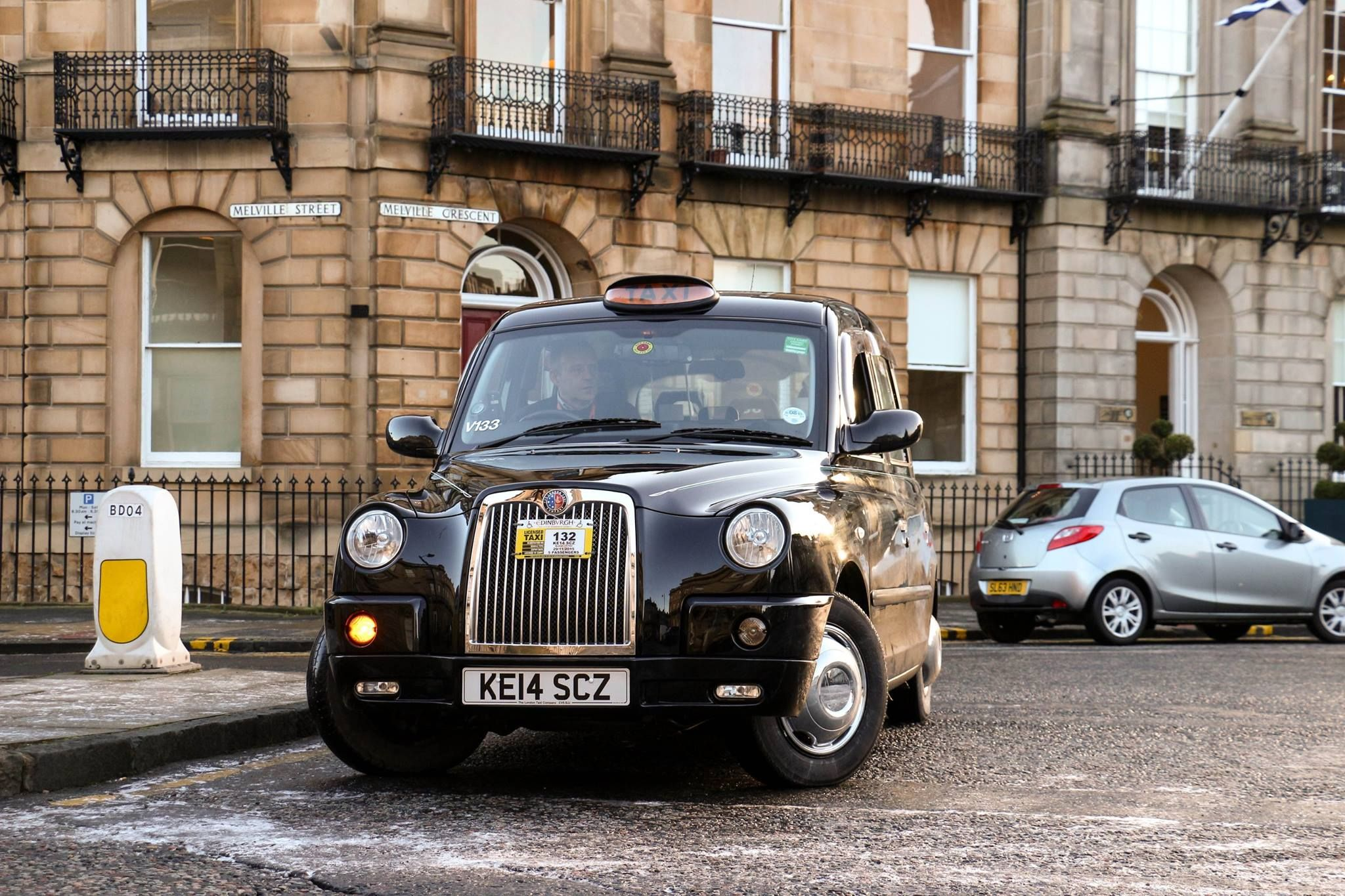 Our Taxi Looking Amazing On The Streets Of Edinburgh Taxi Suv Cab