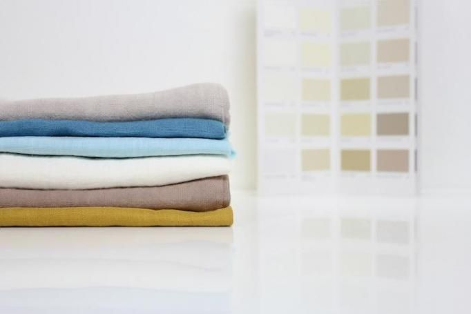 Bed-Linens Dyed in Farrow and Ball Color By Lab. Boutique, Remodelista