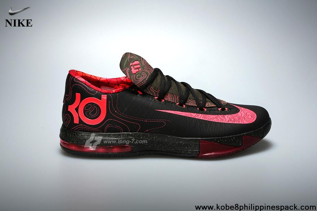 buy popular 0b6ce e4d91 Black Atomic Red-Medium Olive-Fire Red 599424-006 Nike KD VI Meteorology  Your Best Choice