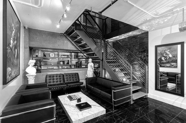 MONARC Tattoo Studio In Los Angeles California Shop Interior DesignExterior