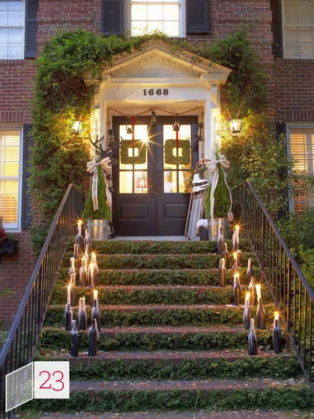 Countdown To Christmas Outdoor Decorating Ideas Http Blog Hgtv