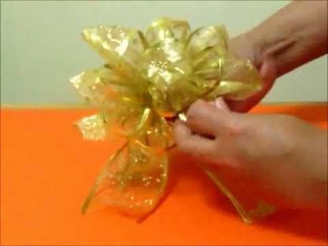 Moños Navideños Originales En Cintas Valentine Navidad Floral Rings