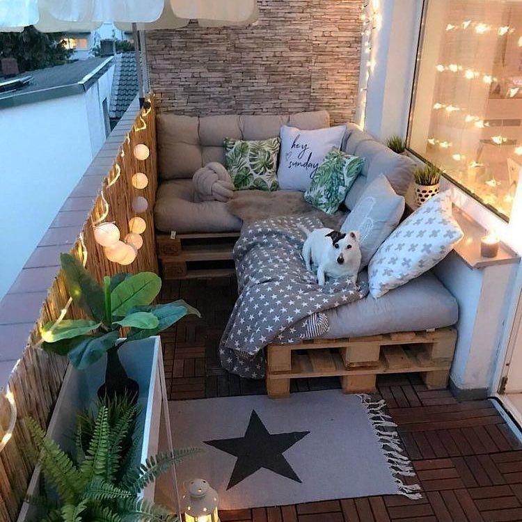 Photo of 21 Cozy and Stylish Small Balcony Design Ideas