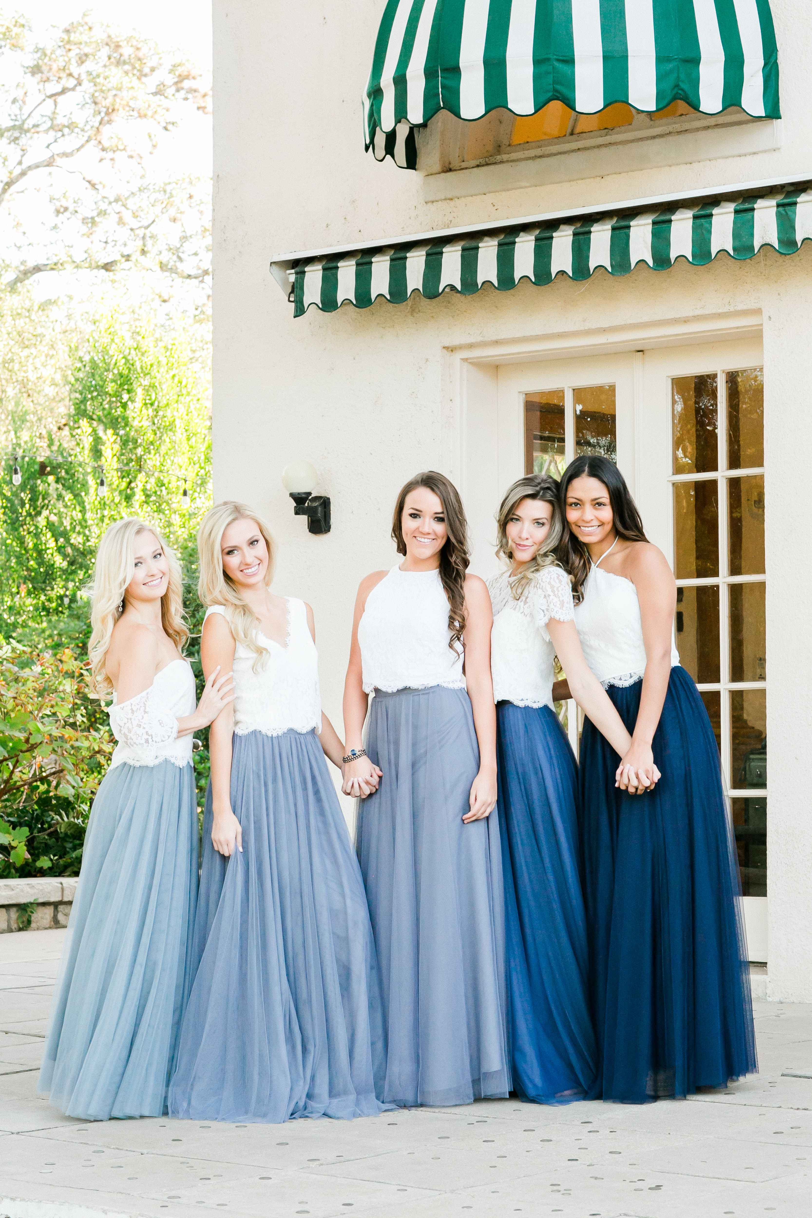 cost charm authentic top-rated fashion Mix and Match Revelry Bridesmaid Dresses and Separates ...