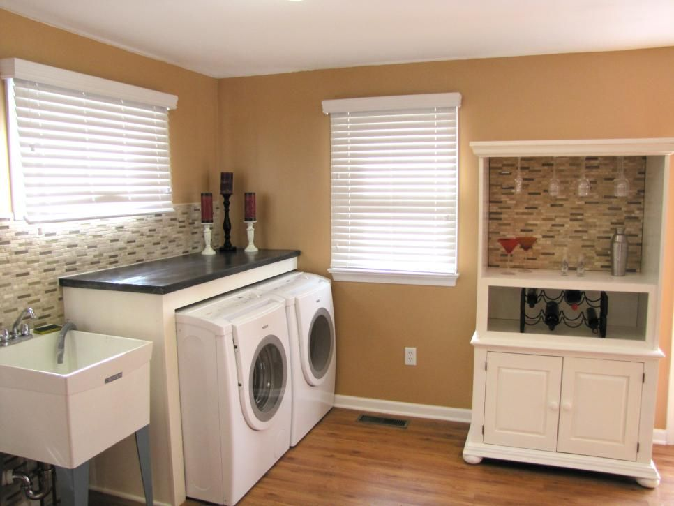 Don T Let Your Mudroom Basement Or Garage Fall Victim To Clutter And Neglect Update With Images Basement Laundry Room Makeover Basement Laundry Room Laundry Room Design