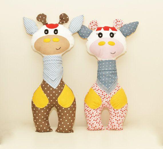 Giraffe Sewing Pattern PDF Instant Download Plush Stuffed Toy ...