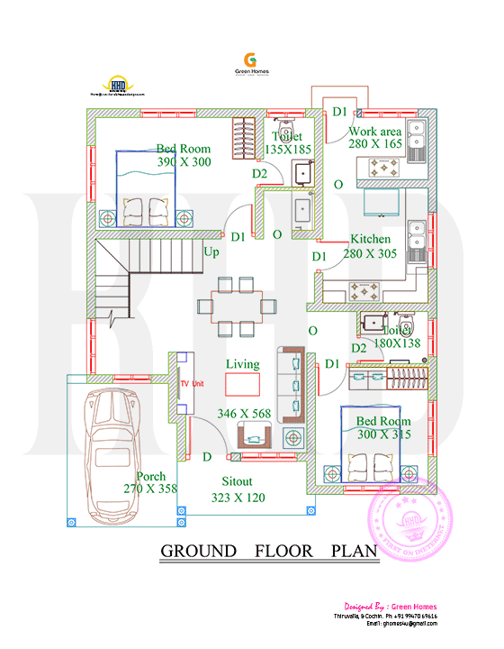 4 Bedroom Home Plans And Designs 1738 Square Feet 4 Bedroom Double Floor Sloping Roof Home Design
