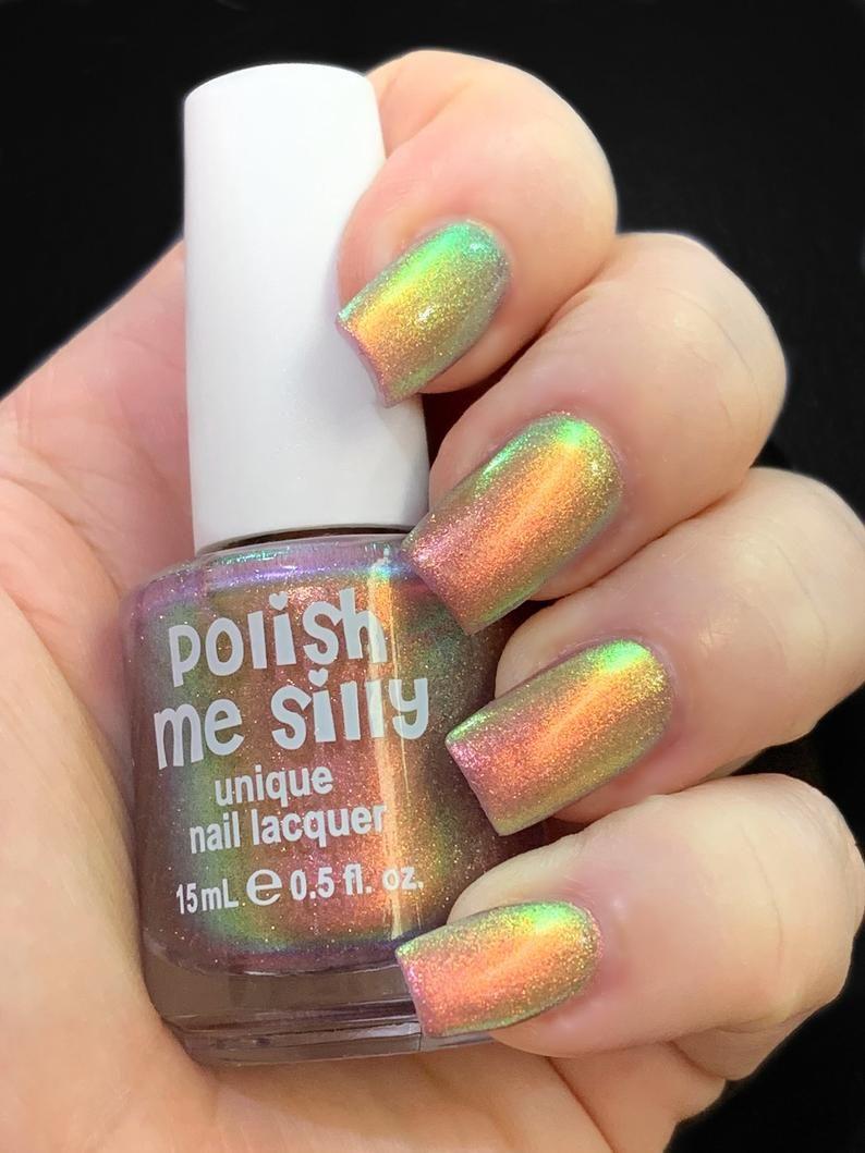 24 Hour Nails : nails, Orange, Yellow, Green, Yellow,, Orange,