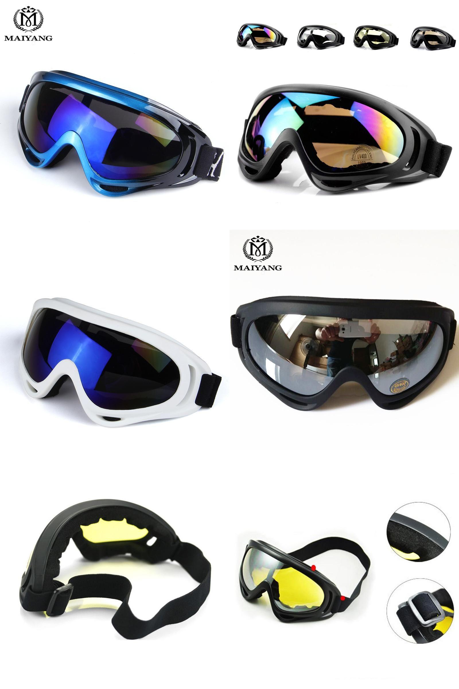 f3ed31ad8b9 Visit to Buy  Outdoor Ski Goggles Double UV400 Anti-fog Big Ski Mask ...