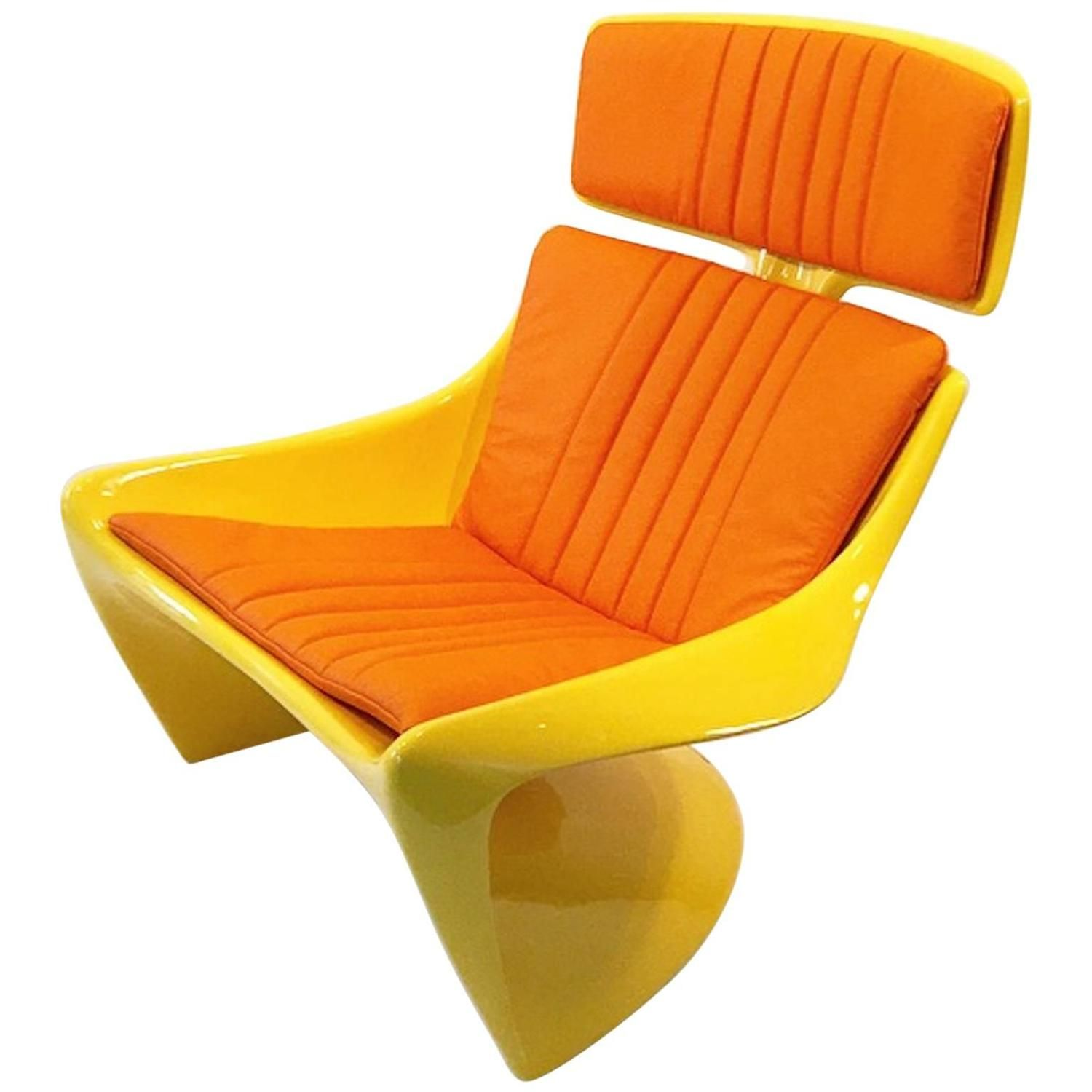 Steen Ostergaard President Prototype Lounge Chair for Abstracta ca.1967