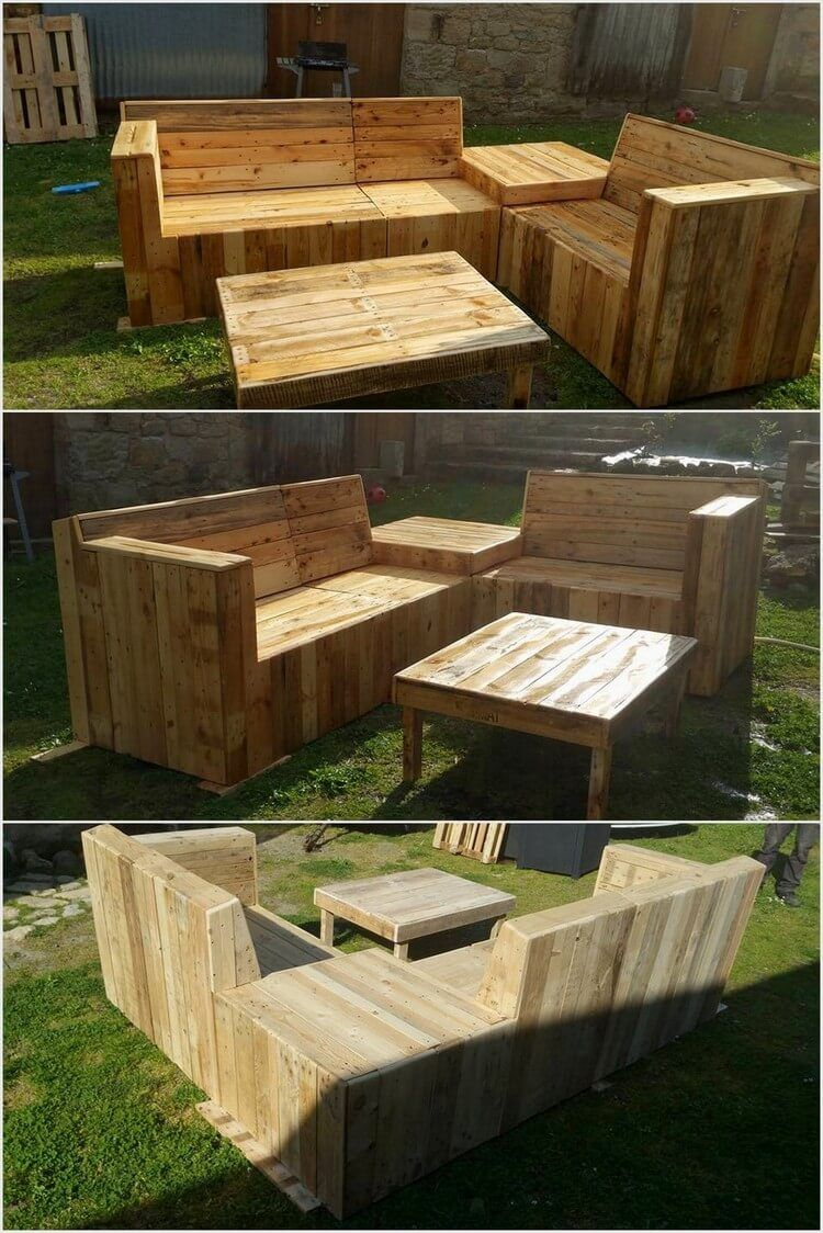 80 Easy Wooden Pallet Ideas for This Summer | Wood pallet furniture ...
