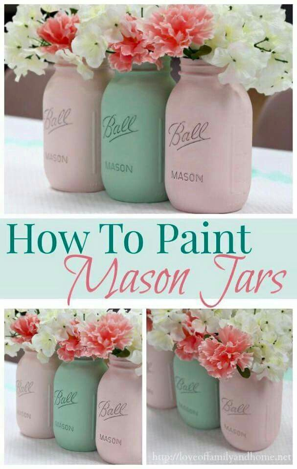 Ways To Decorate Glass Jars Pinnaomi Hardwick On Home & Garden  Pinterest  Craft