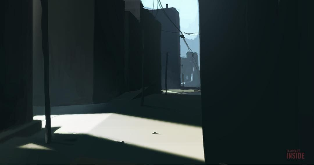 playdead's inside concept art [9] | City Backgrounds