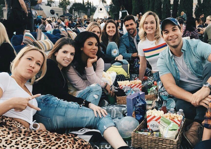 Pitch Perfect cast, Kelley's birthday | Pitch Perfect | Film