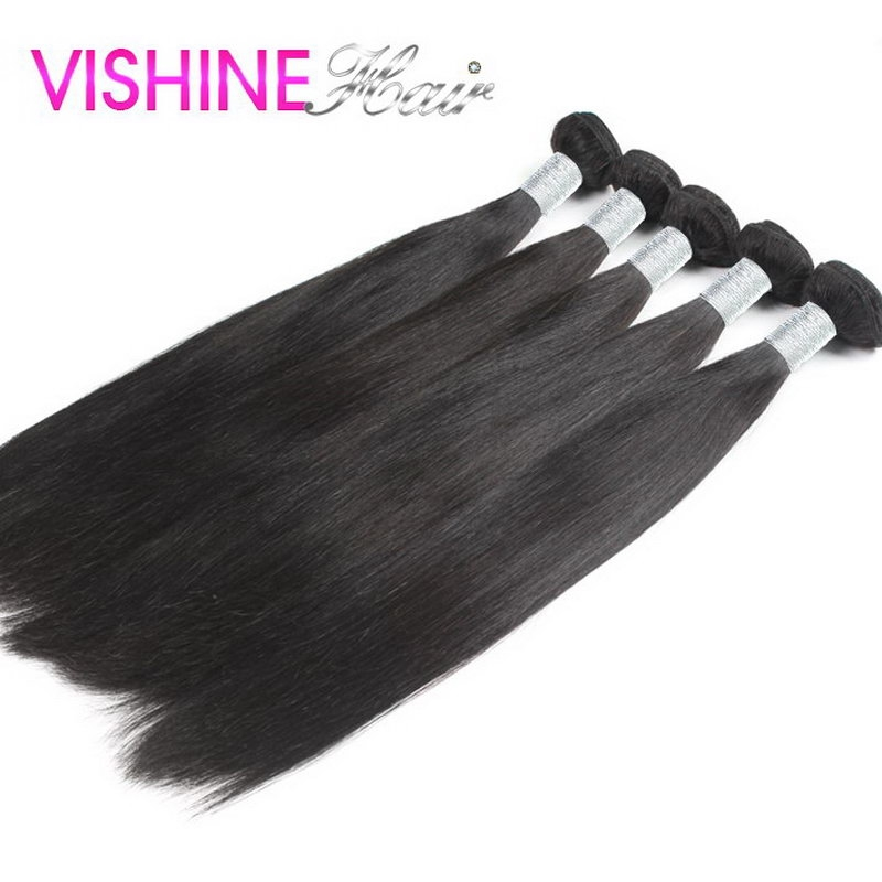 175.44$  Watch now - http://aliw3t.worldwells.pw/go.php?t=32452491461 - 5Pcs Brazilian Virgin Hair Straight Best Unprocessed Human Straight Hair Cheap Full Cuticle Brazilian Hair can be dyed&bleached 175.44$