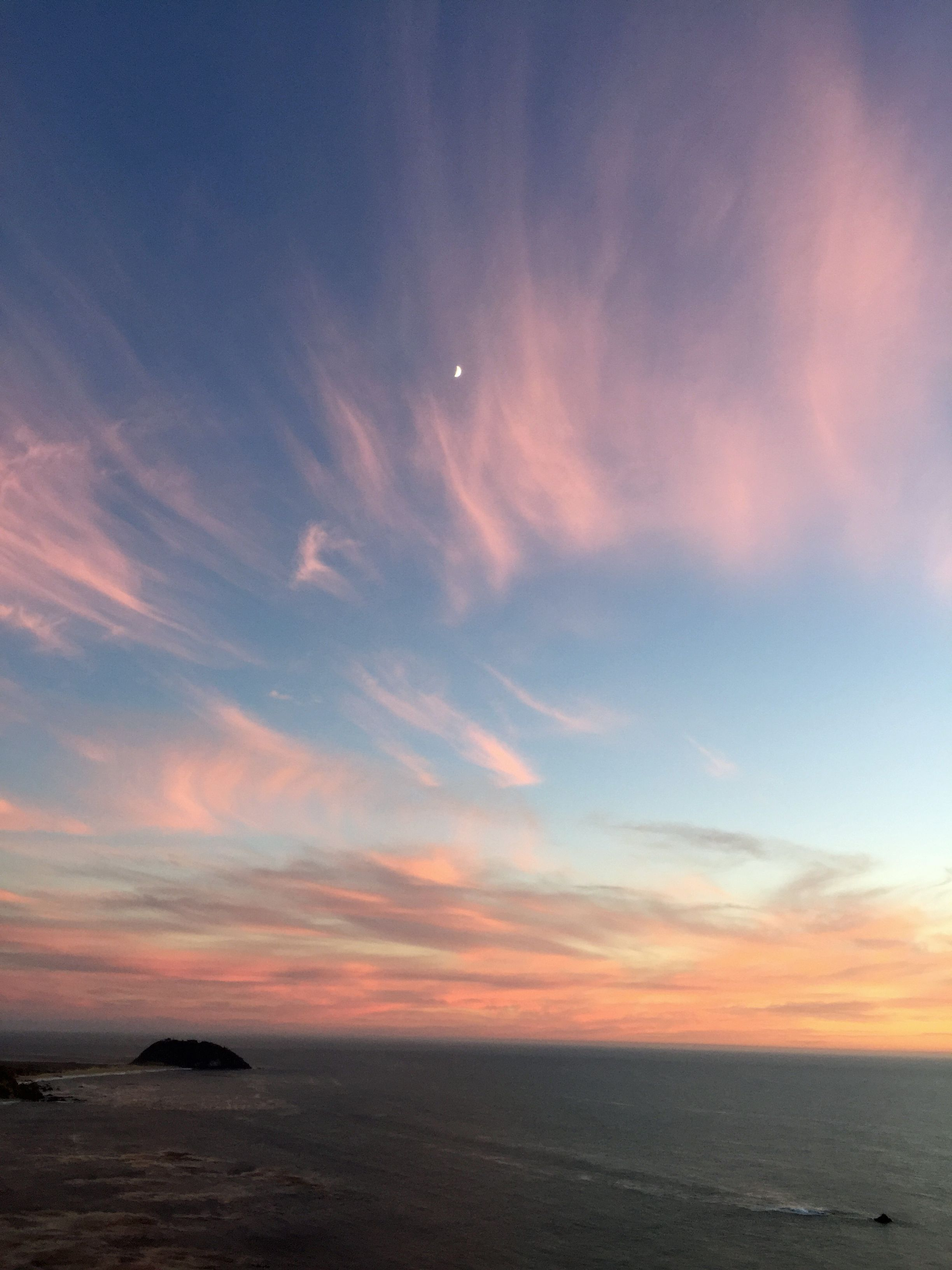 Big Sur sky, after the sun set